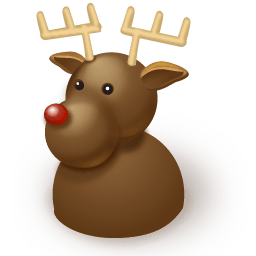 Reindeer Sticker