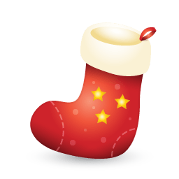 Xmas Stocking Sticker