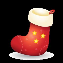 Xmas Stocking Sticker