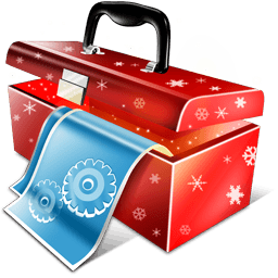 X-mas Toolbox Sticker