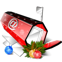 X-mas Email Sticker