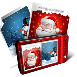 X-mas Pictures Sticker
