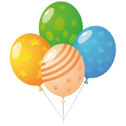 Balloons Sticker