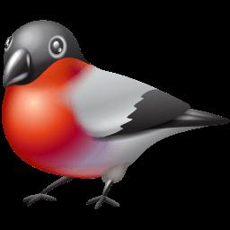 X-mas Bullfinch Sticker