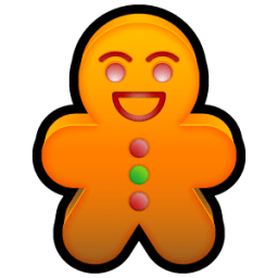 Gingerbread Sticker