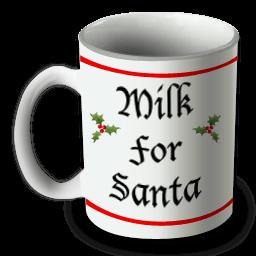Santa Mug Sticker