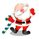 Santa Claus Stickers