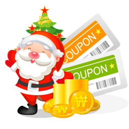 Christmas Coupons Sticker