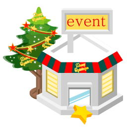 Christmas Event Store Sticker