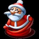 Santa 1 Sticker