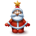 Santa 3 Sticker