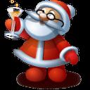 Santa 5 Sticker