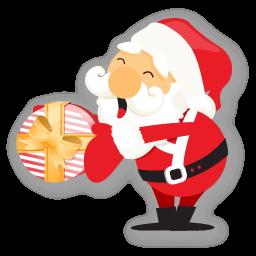 Santa Gift Sticker