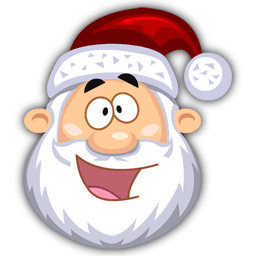 Happy Santaclaus Sticker