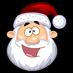 Happy Santaclaus Sticker