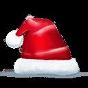 Santa Hat Sticker