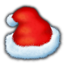 Santas Hat Sticker