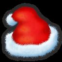 Santas Hat Sticker