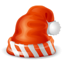 Santa Cap Sticker