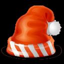 Santa Cap Sticker