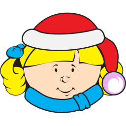 Christmas Kid Sticker