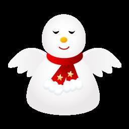Snow Angel Sticker