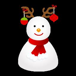 Snow Deer Sticker