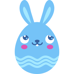 Blue Blush Sticker