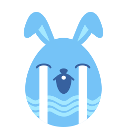 Blue Cry Sticker