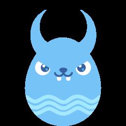 Blue Demon Sticker