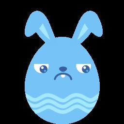 Blue Guilty Sticker