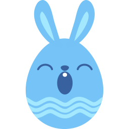 Blue Sleepy Sticker