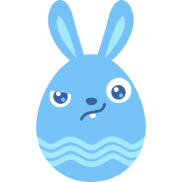 Blue Wary Sticker