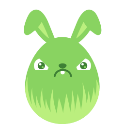 Green Crabby Sticker