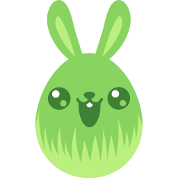 Green Cute Sticker