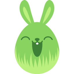 Green Happy Sticker