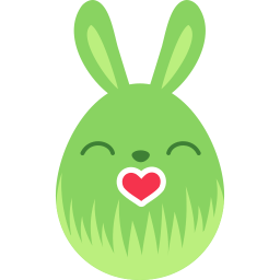 Green Kiss Sticker