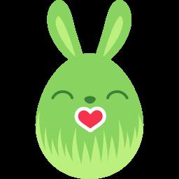 Green Kiss Sticker