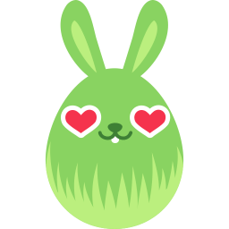 Green Love Sticker