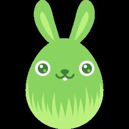 Green Smile Sticker