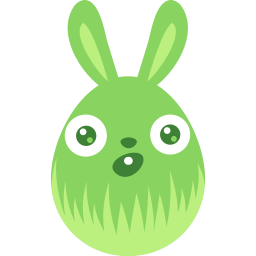 Green Surprised Sticker