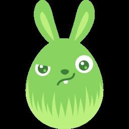 Green Wary Sticker