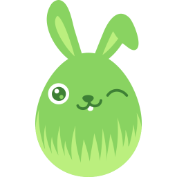 Green Wink Sticker