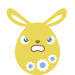 Yellow Angry Sticker