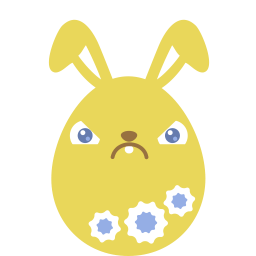Yellow Crabby Sticker
