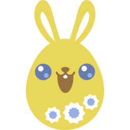 Yellow Cute Sticker