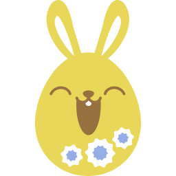 Yellow Happy Sticker