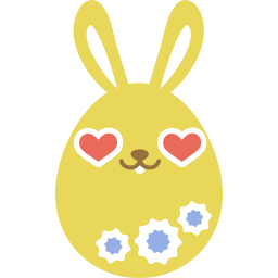 Yellow Love Sticker