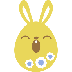 Yellow Sleepy Sticker
