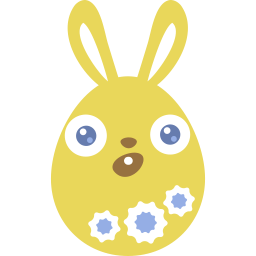 Yellow Surprised Sticker